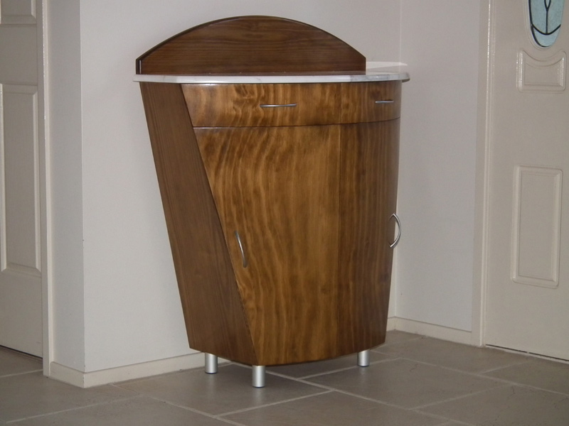 Custom side cabinet