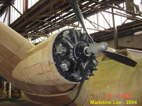 Wright cyclone radial engine